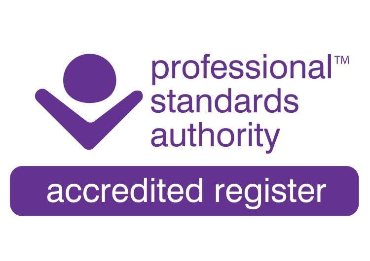 Professional Standards authority accredited register logo
